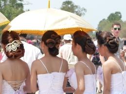 Brides at Angkor Wat
