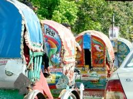 Bicycle Rickshaws in Dhaka