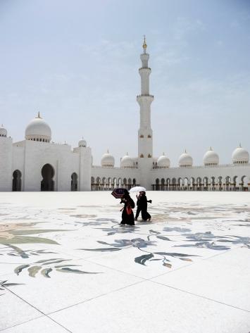 Sheikh Zayad mosque, Abu Dhabi, UAE