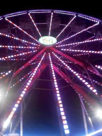 brightly colored ferris wheel at the Treasure Island Music Festival