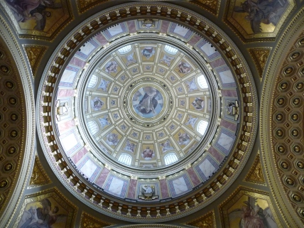 Ceiling at St Stephen's Basilica