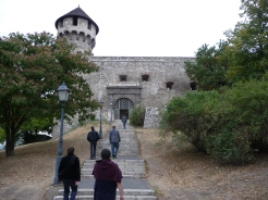 Walking up to the Castle