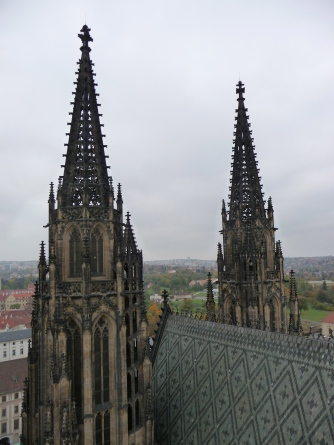 Spires of St Vitus
