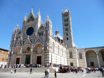 The Duomo. Tim Burton must have gotten inspiration from this.