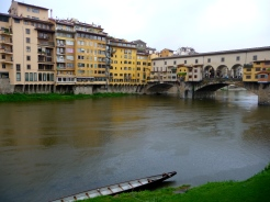 The Arno and Ponte Vecchio