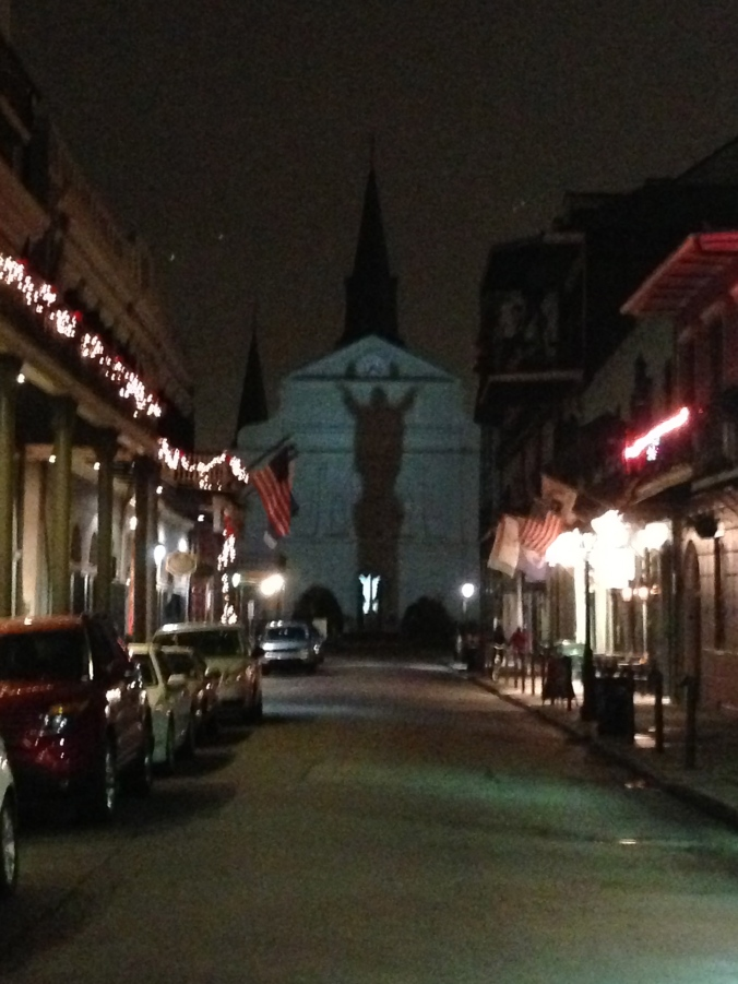 Christ over Bourbon Street