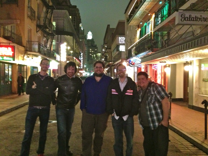 Team Social Takes Bourbon Street