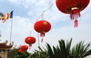 lanterns at the pagoda