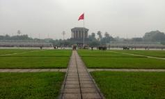 Visiting Ho Chi Minh