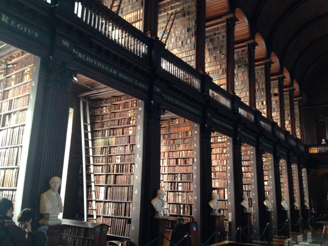 Books, books, and more books at Trinity College