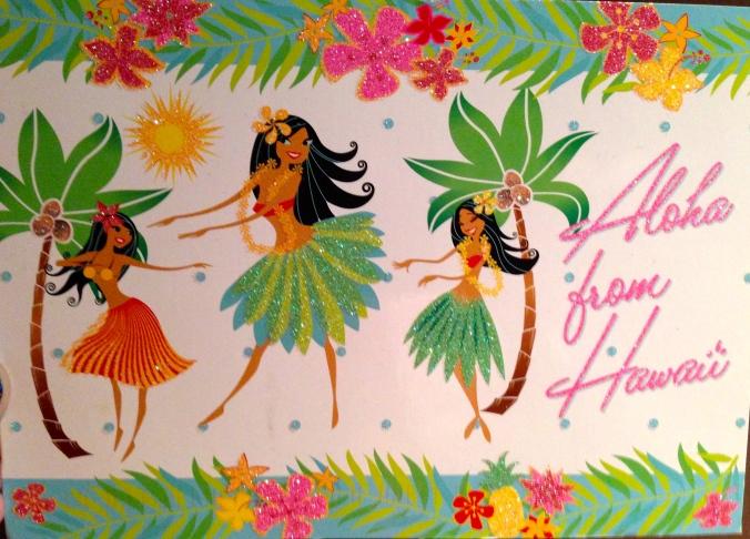 Hawaiian greetings