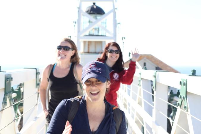 At the Point Bonita Lighthouse