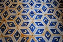 Crescent Moon Floor in the Library - my favorite floor in Siena