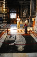 Dad Shooting Mom in Cathedral of Siena
