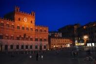 Il Campo at night