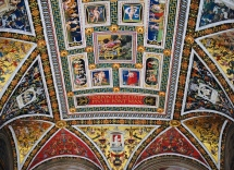 Library Ceiling in Cathedral of Siena