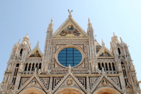 Outside View of the Cathedral of Siena