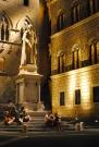 Saint at night