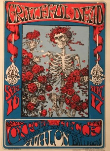 Grateful Dead - my first concert was in Oakland, a month after I moved to San Francisco