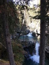 Johnston Canyon Falls