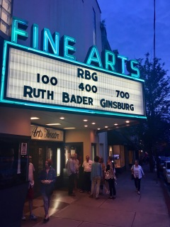RBG at the Fine Arts Theater