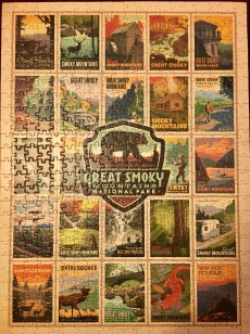 Great Christmas tradition - jigsaw puzzles!