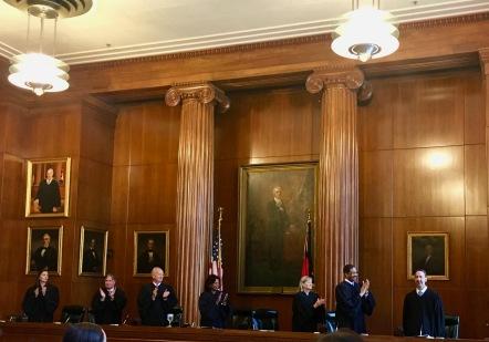 Welcoming Justice Davis