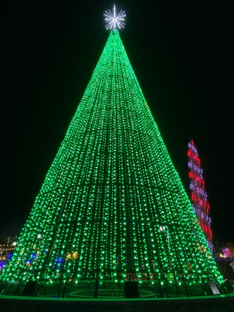 Christmas Tree Lights green